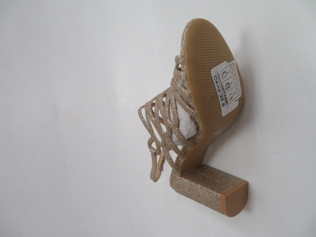 Sandały Damskie L-11-152, Gold, 36-40 3