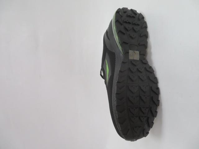 Buty Sportowe Męskie 2160, Black/Green, 41-46 2