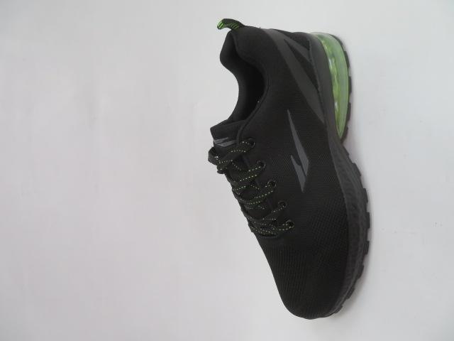 Buty Sportowe Męskie 2161, Black/Green, 41-46 1