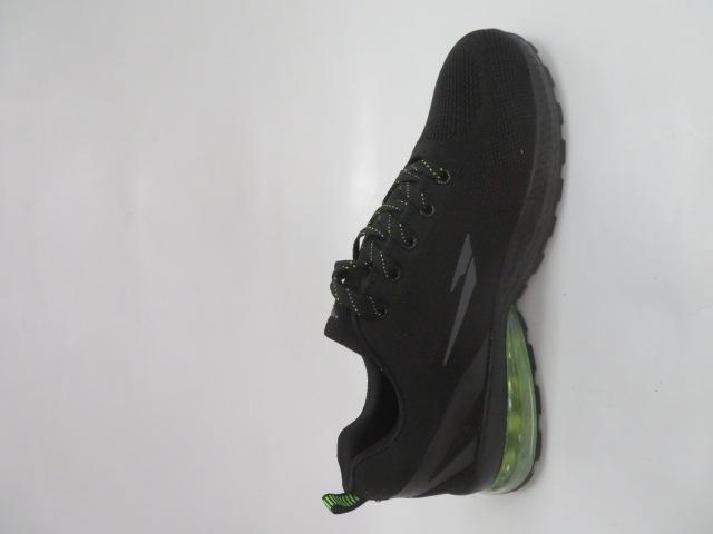 Buty Sportowe Męskie 2161, Black/Green, 41-46 2