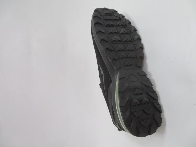 Buty Sportowe Męskie 2161, Black/Green, 41-46 3
