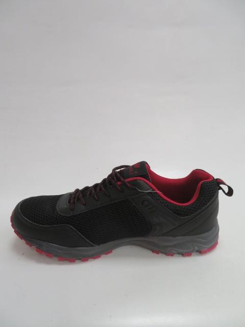 Buty Sportowe Męskie 1316A, Black/Red, 41-46