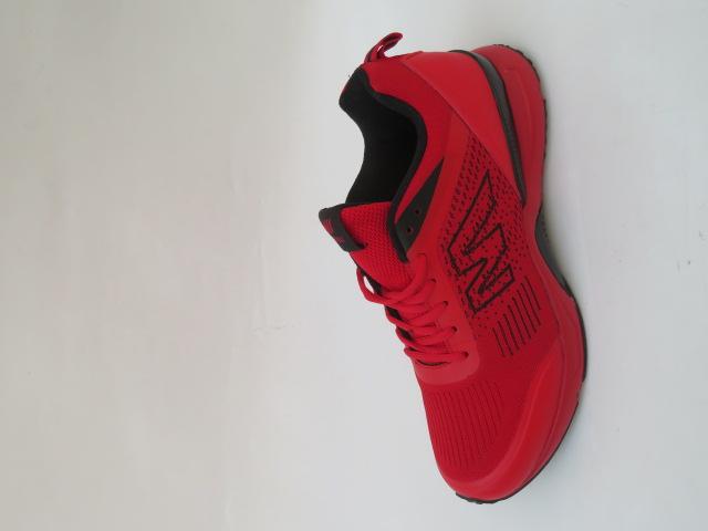 Buty Sportowe Męskie 2059-3, Red, 41-46