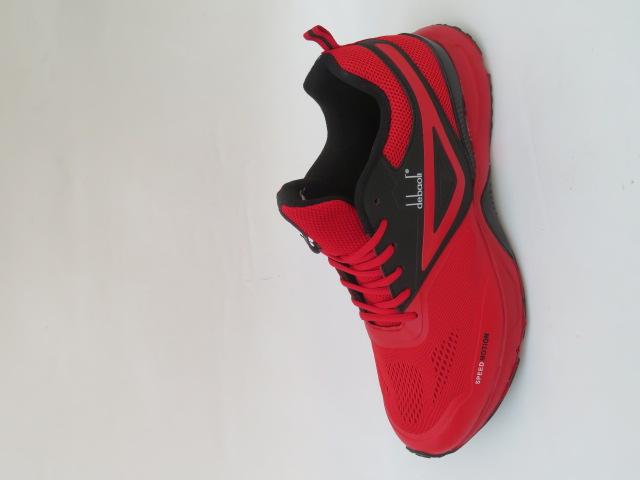 Buty Sportowe Męskie 2055-3, Red, 47-49