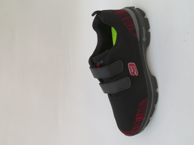 Buty Sportowe Męskie 269-1, Black/Red, 40-45