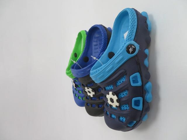 Klapki Dziecięce T598-3,  Mix 3 color, 30-35