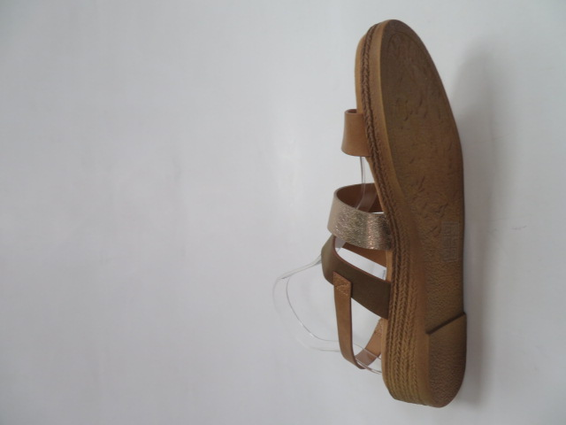 Sandały Damskie FDT-4, Camel, 36-41
