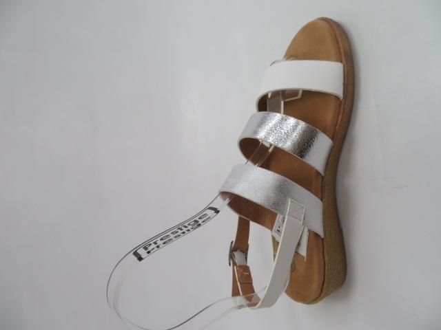 Sandały Damskie FDT-4, Silver , 36-41