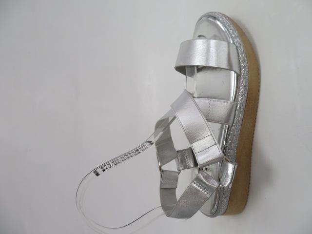 Sandały Damskie FDT-1, Silver, 36-41
