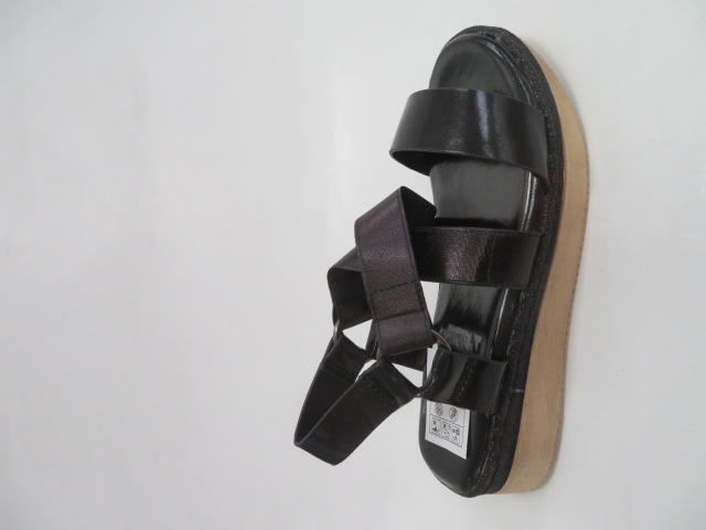 Sandały Damskie FDT-1, Black, 36-41