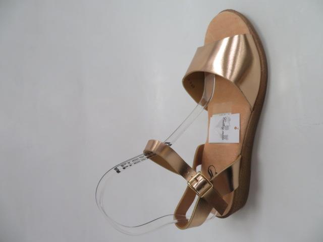 Sandały Damskie FDT-3, Champagne , 36-41