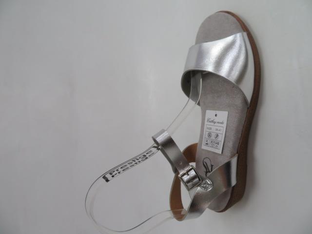 Sandały Damskie FDT-3, Silver, 36-41