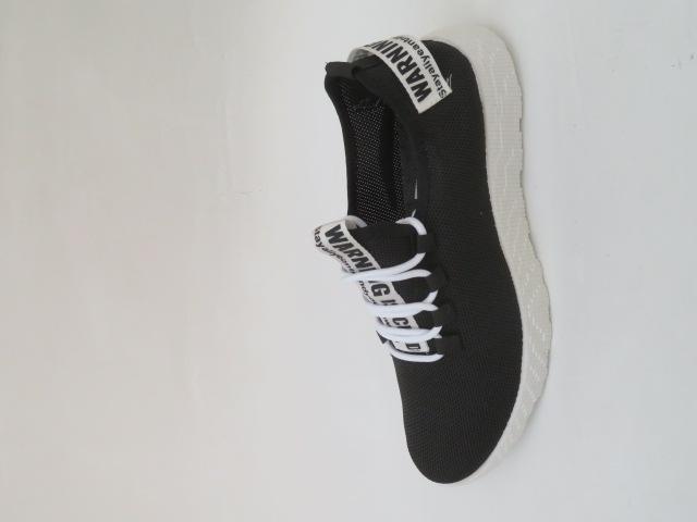 Buty Sportowe Męskie 7268-3, Black/White , 41-46
