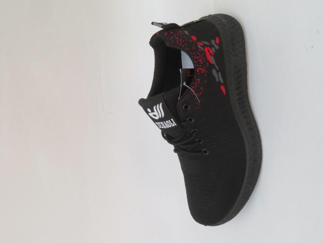 Buty Sportowe Męskie 8668-1, Black, 41-46