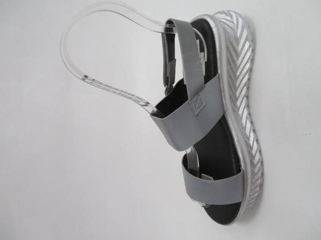Sandały Damskie FDT-9, Grey , 36-41
