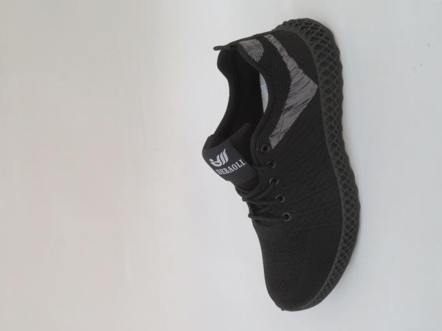 Buty Sportowe Męskie 8916-1, Black, 41-46