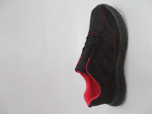 Buty Sportowe Męskie F052, Black/Red, 41-46