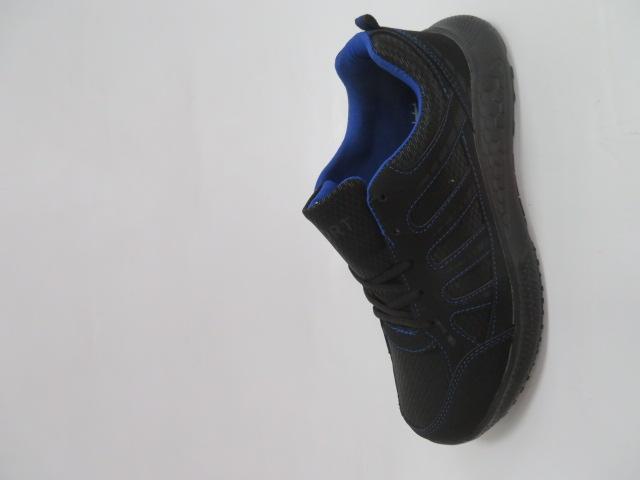 Buty Sportowe Męskie F052, Black/Blue, 41-46