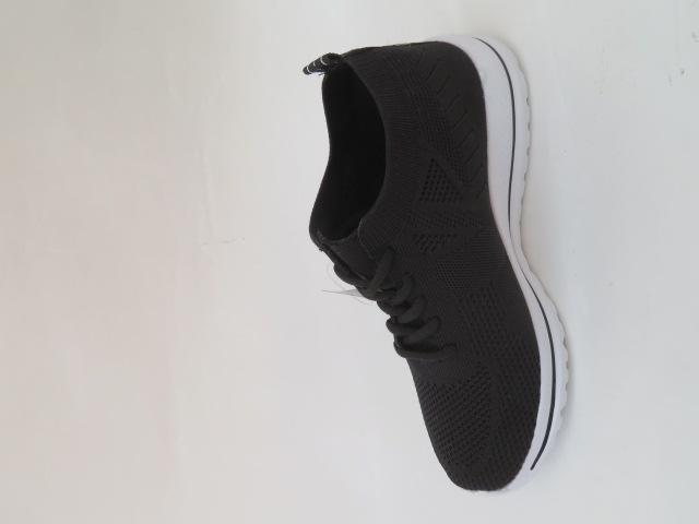 Sportowe Damskie 862-1, Black/Grey, 36-41