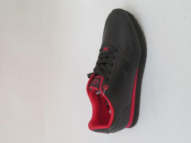 Sportowe Damskie 30326-1, Black/Red, 36-41