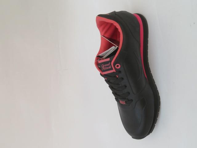 Sportowe Damskie 3032-2, Black/Pink, 36-41