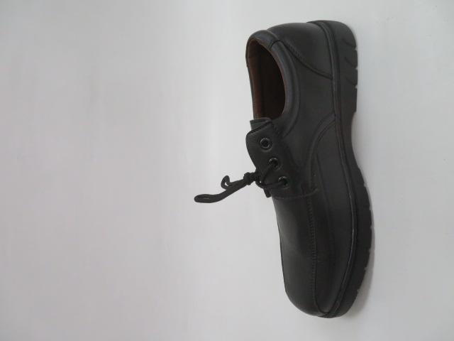 Buty Sportowe Męskie 56-13, Black , 40-46