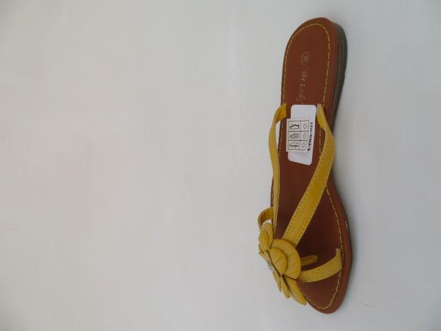 Klapki Damskie 81171, Yellow, 36-41