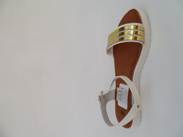 Sandały Damskie 7-85546, White, 36-41