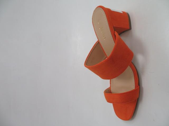 Klapki Damskie 195, Orange , 36-41