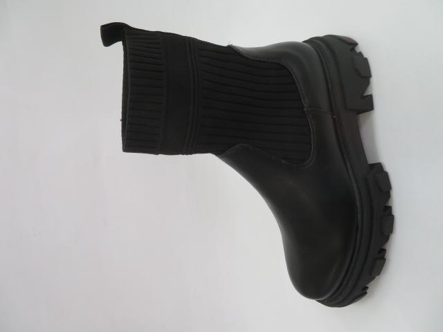 Botki Damskie 6806, Black, 36-41