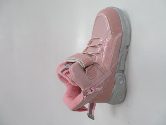Botki Dziecięce P653, Pink, 27-32 2