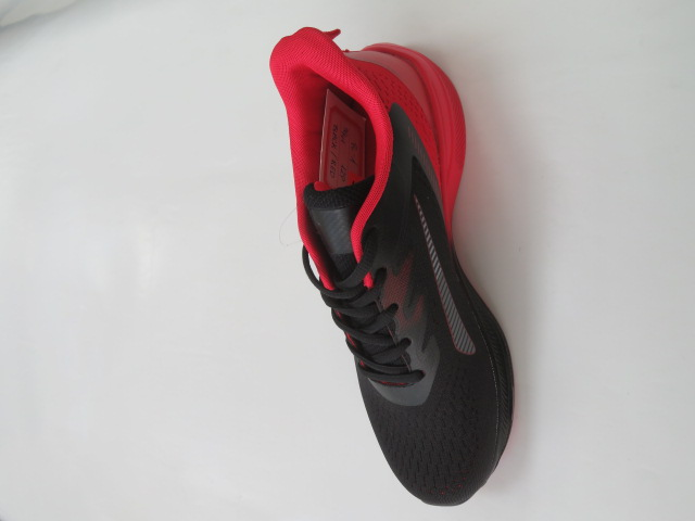 Sportowe Damskie R-1, Black/Red, 36-41