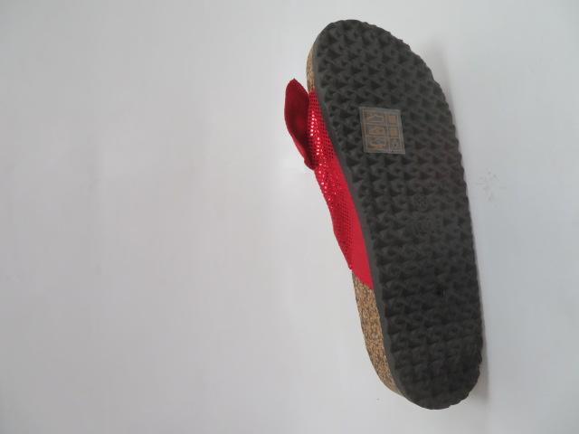Klapki Damskie FRS-56, Red, 36-41 3