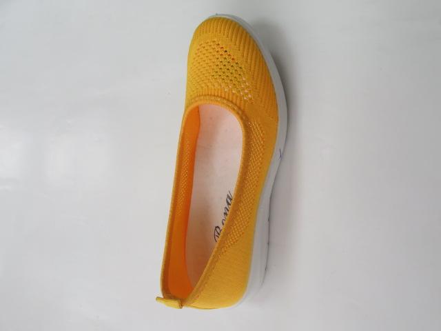 Baleriny Damskie AH10, Yellow, 36-41