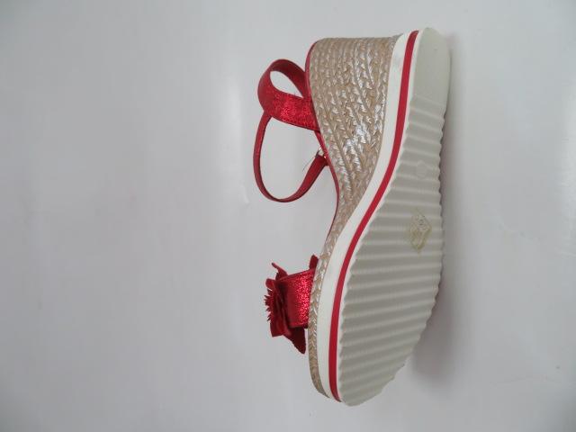 Sandały Damskie A89870, Red, 36-41