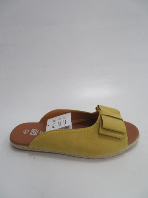 Klapki Damskie HL29, Yellow, 36-41