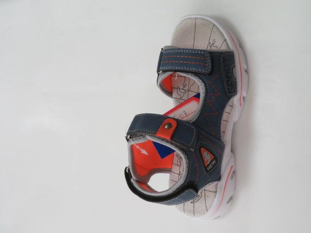 Sandały Dziecięce KF-07, Blue/Orange, 28-36