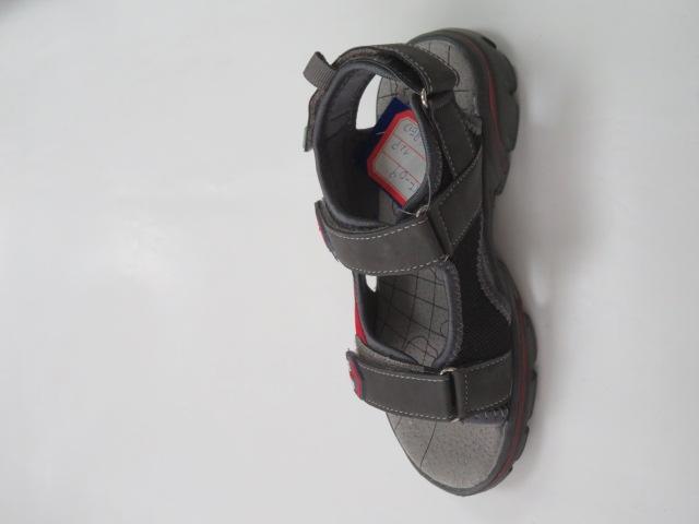 Sandały Dziecięce KF-09, Grey/Red , 28-36