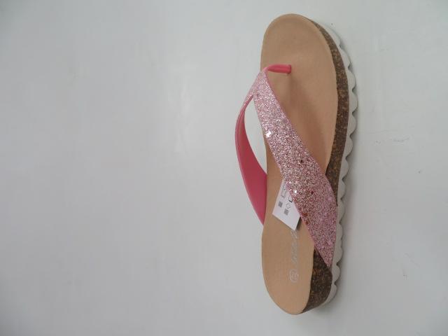 Japonki Damskie S 16, Pink, 36-41