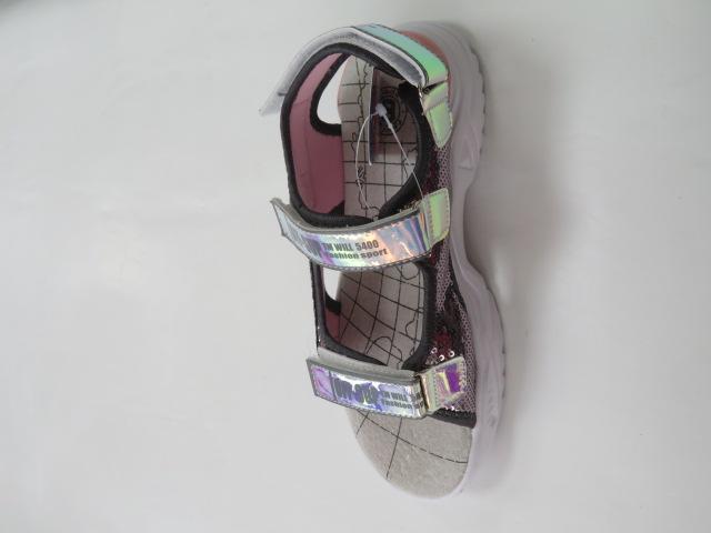 Sandały Dziecięce FJ-02, L.Grey, 32-37