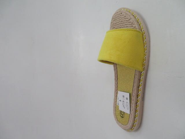 Klapki Damskie 528, Yellow, 36-41