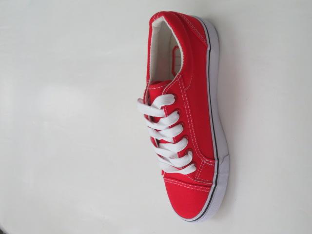 Trampki Damskie ZC-6, Red/White,  36-41 2
