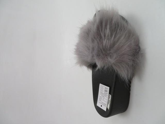 Klapki Damskie ZD201-77, Grey, 36-41 1