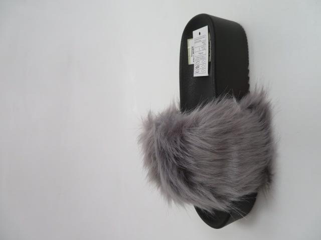 Klapki Damskie ZD201-77, Grey, 36-41 2