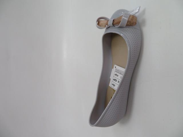 Baleriny Damskie 8909-3, Grey, 36-41