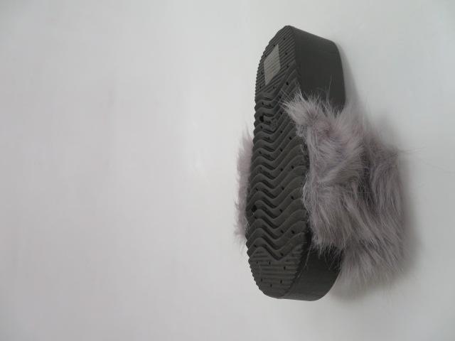 Klapki Damskie ZD201-77, Grey, 36-41 3