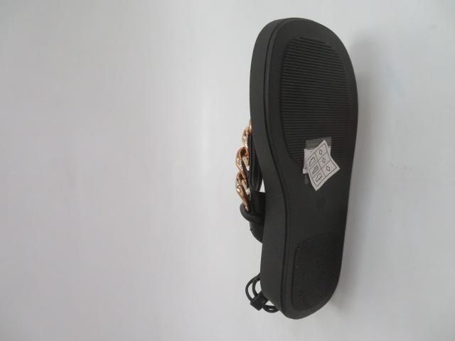 Sandały Damskie WSZ-153, Black, 36-41