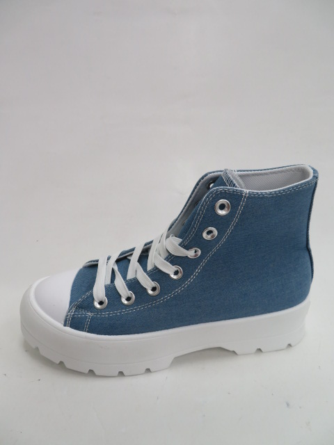 Trampki Damskie 2175, Blue , 36-41