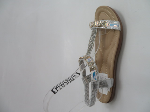 Sandały Damskie 6631, Silver, 36-41 1