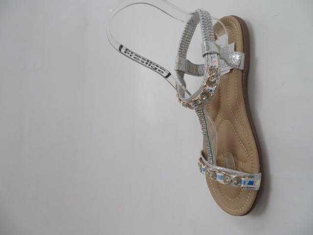 Sandały Damskie 6631, Silver, 36-41 2